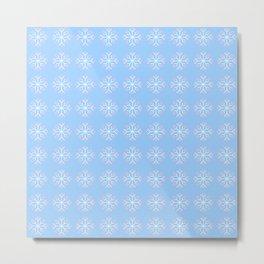 snowflake 6 For Christmas ! Metal Print