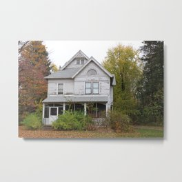 a house among leaves Metal Print