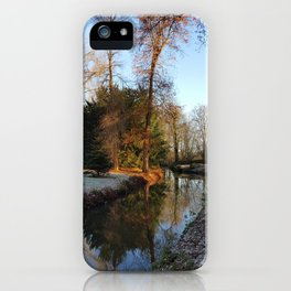 A Warm Welcome of Winter iPhone Case