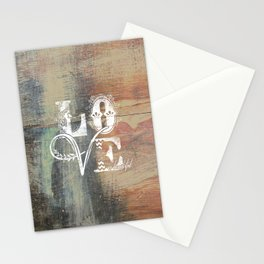 Love is beautiful Stationery Cards