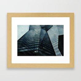 The Towering Skyline Framed Art Print