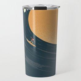 Surfing the World Travel Mug