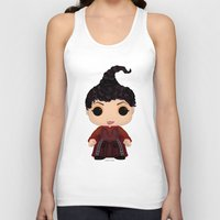 hocus pocus Tank Tops featuring Hocus Pocus Mary by SpaceWaffle