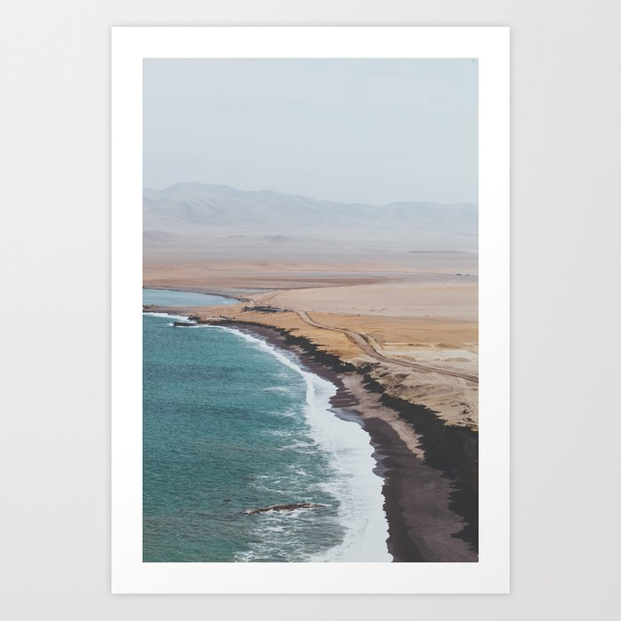 Paracas, Peru I Art Print By Lukegramphotos
