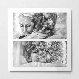 A TALE OF TWO SISTERS Metal Print