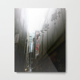 Laneways Metal Print