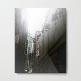 Laneways Metal Print