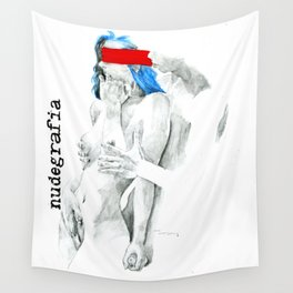 Nudegrafia - 007   Invisible and imaginary Wall Tapestry