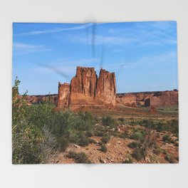 A Beautiful Place Throw Blanket