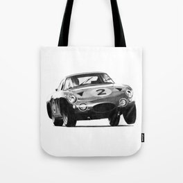 Driving on the door handles...... Tote Bag