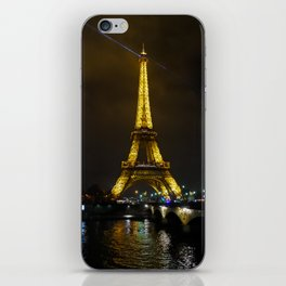 Paris at night iPhone Skin