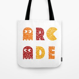 Arcade Retro Game Tote Bag