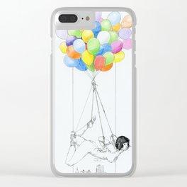 NUDEGRAFIA - 38 Clear iPhone Case