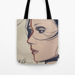 Tribal Girl I Tote Bag