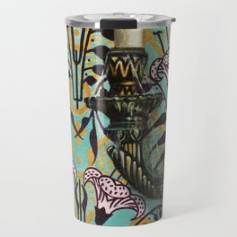"Disneyland Haunted Mansion inspired ""Wall-To-Wall Creeps No.1""  Travel Mug"