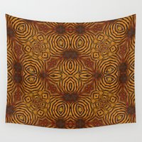 rug Wall Tapestries featuring Beeskin Rug by Lady Tanya bleudragon