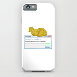 Catloaf.exe iPhone Case
