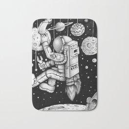 Galaxy Repairman Bath Mat