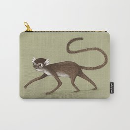 Squirrel Monkey Walking Carry-All Pouch