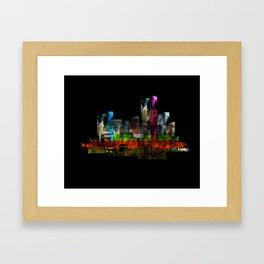Processing_rendu_441599 - BlackBelieve Framed Art Print