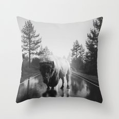 Street Walker III Throw Pillow