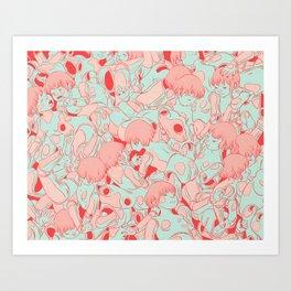 Pile Art Print