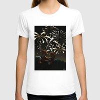 fireworks T-shirts featuring Fireworks! by Nikita Horridge