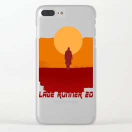 Blade Runner 2049 Sunset Clear iPhone Case