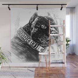 Pit Bull Models: Khan 03-02 Wall Mural