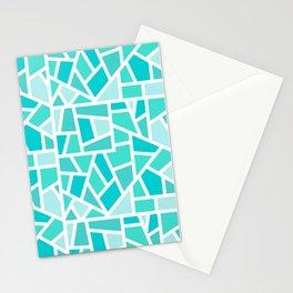 Turquoise Mosaic Stationery Cards