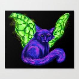 Fairy Cat - Mazuir Ross Canvas Print