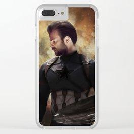 Cap Hero Clear iPhone Case