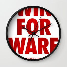 Win For Ware Wall Clock