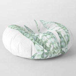 Watercolor botanical print Floor Pillow