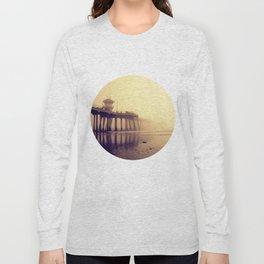 Huntington Beach Pier Long Sleeve T-shirt
