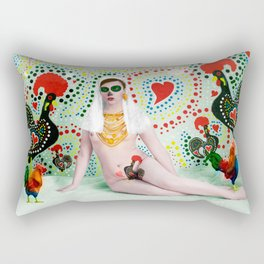 A Portuguesa Rectangular Pillow