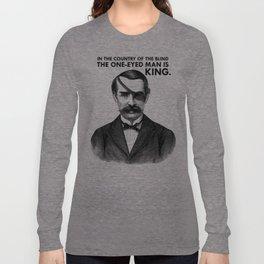 ONE-EYED KING  Long Sleeve T-shirt