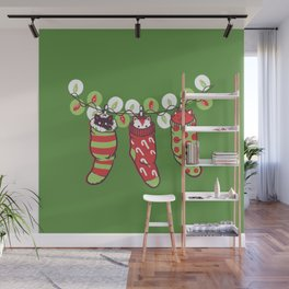 Jingle Meow Wall Mural