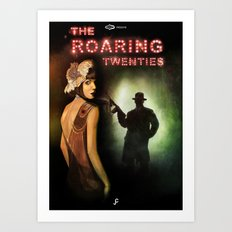 The Roaring Twenties Art Print