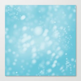Turquoise Ombre Canvas Print