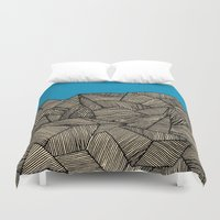 boat Duvet Covers featuring - boat - by Magdalla Del Fresto