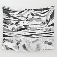 sand Wall Tapestries featuring Sand  by Jihan Mv