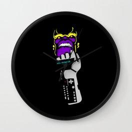 Power Gauntlet Wall Clock