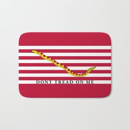 First Navy Jack of the United States of America flag Bath Mat