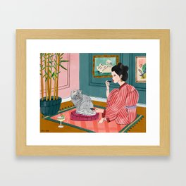 Modan Gaaru 2 Framed Art Print