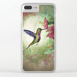 Fleeting serendipity Clear iPhone Case