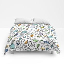 Trendy kitchen Comforters