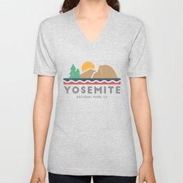 Yosemite National Park, California Graphic Unisex V-Neck