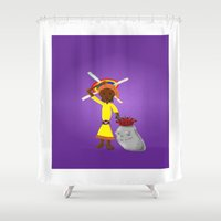 book cover Shower Curtains featuring Kilalu book cover by Vincent Poe