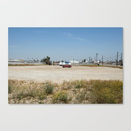 wasted space. Canvas Print